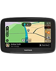 $103 » TomTom Smart Car GPS Navigation GO Comfort 5, 5-inch, with updates via WiFi, lifetime traffic and maps (US-CAN-MEX), TomTom roadtrips