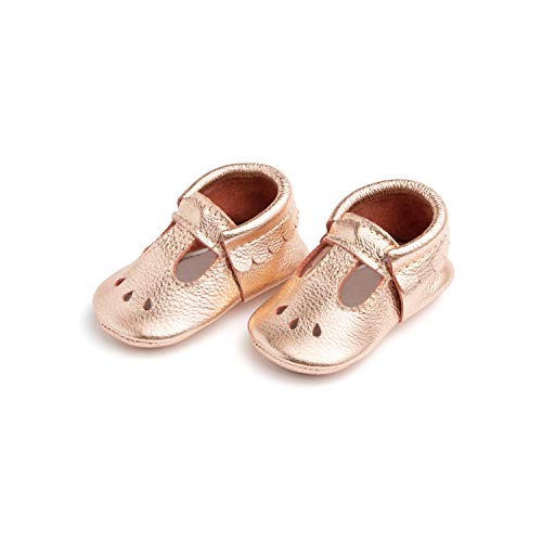 Freshly Picked Rose Gold Mary Jane Mini Sole,4 M US (Picked Freshly)