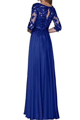 Brautmutterkleider Ivydressing Abendkleider Damen Festkleider Schokolade Spitze Aermeln Lang Mit Yqpw1gY