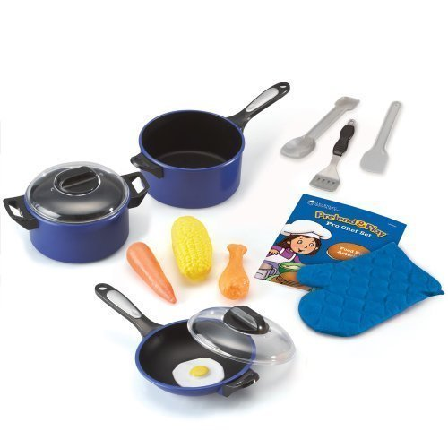 Learning Resources Pretend & Play Pro Chef Set, Model: LER9082, Toys & Play