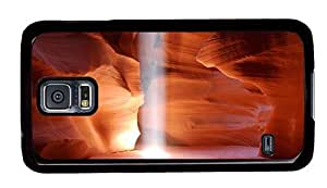Hipster amazing Samsung Galaxy S5 Cases Antelope Canyon PC Black for Samsung S5