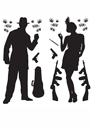 (Struts Fancy Dress Gangster Scene Setter 1920s Party)