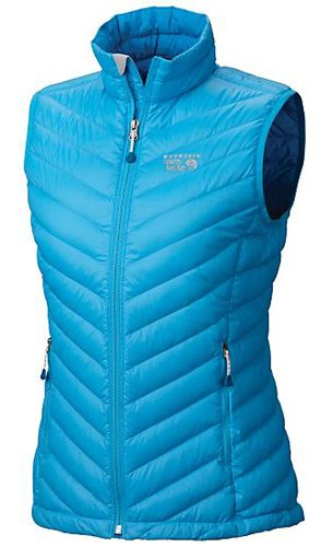 Mountain Hardwear Lightweight Vest - Mountain Hardwear Nitrous Vest, Oasis Blue, X-Large