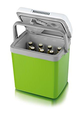 SEVERIN Elektrische Kühlbox (20 L) mit Kühl- und Warmhaltefunktion, Auto Kühlbox mit 2 Anschlüssen (Netzteil…