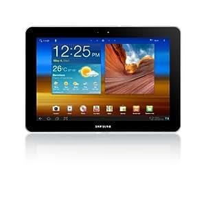 Samsung Galaxy Tab GT-P7510FKDFOP - Tablet libre 10,1'' 16 GB (Wi-Fi, pantalla táctil 10,1'', Android v3.0 en español, Bluetooth v3.0, cámara 3.15 MP con vídeo y vídeollamada, MP3) - negro