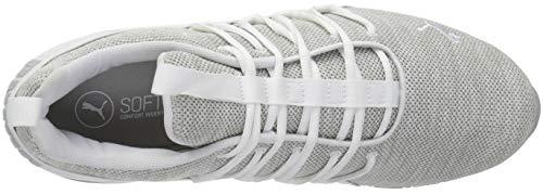 gray Men's White Violet Sneaker PUMA Puma Axelion dXw7vBAqBW