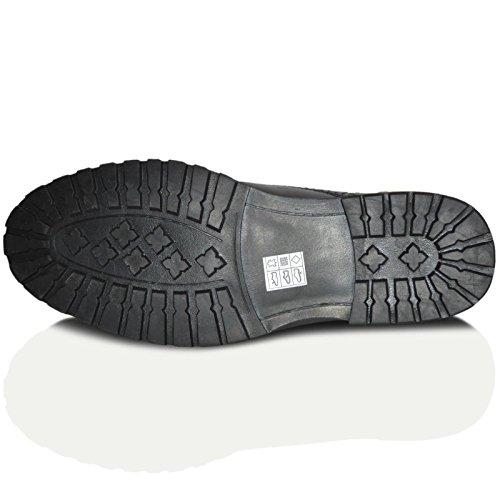Red Tape Barrow Marrón Piel Hombre Brogues Estilo Clasico Zapato Formal Cordones negro