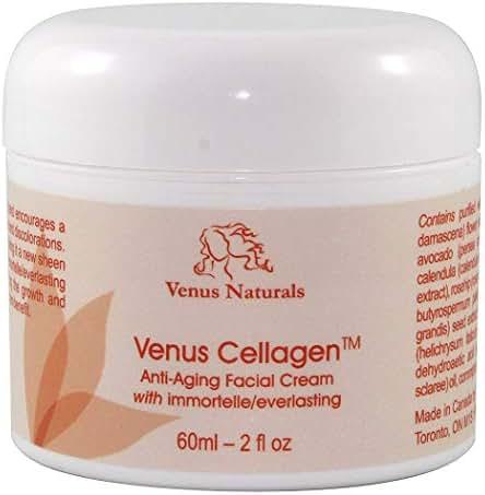 Venus Cellagen Anti-Aging Anti-Wrinkle Collagen Cream with Immortelle 2oz Jar