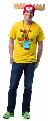 Rasta Imposta Men's National Lampoon's Vacation Walley World Costume Kit, Multi, One (Men National Costume)