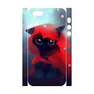 VNCASE Lovely Cat Phone Case For iPhone 5,5S [Pattern-5]