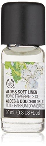 The Body Shop Home Fragrance Oil, Aloe & Soft Linen, 0.3 Fluid Ounce