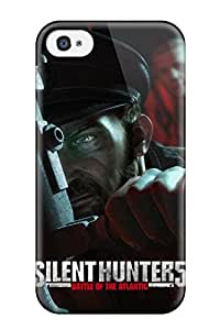 High-quality Durability Case For Iphone 4/4s(silent Hunter Video Game Other)