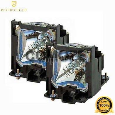2pcs for Fit Panasonic Bulb NSH300W Original Lamp ET-LAD7700LW ET-LAD7700W Projector Lamp w//Housing for Panasonic PT-D7000 PT-D7700 by WoProlight