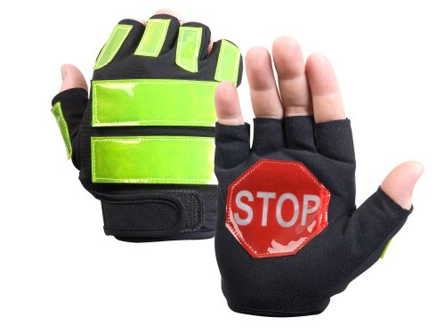 - Brite Strike ITG-08L/XL Traffic Safety Gloves, Black, Large/Extra-Large