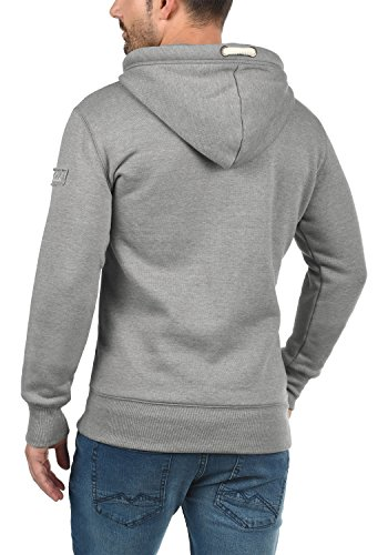Pull Melange Grey Triptall Solid Homme Light Capuche 8242 À Uv060q7