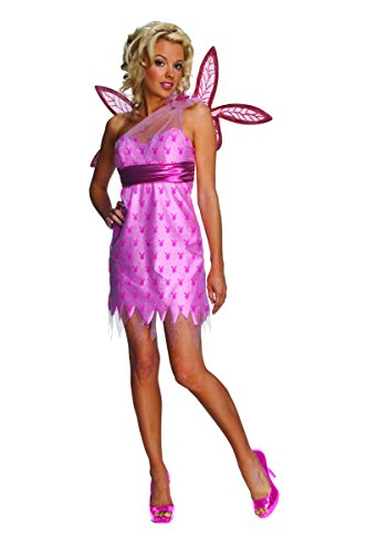 Rubie's Playboy Sexy Fairy Adult Costume Small Pink ()