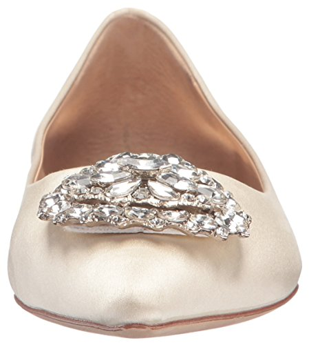 Pointed Women's Flat Badgley Mischka Ivoire Davis Toe C1xaFq