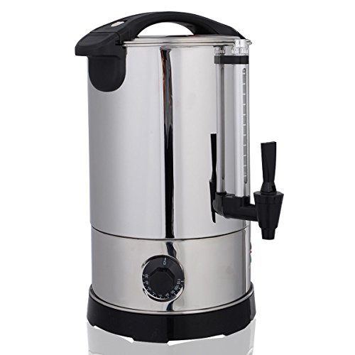 Giantex Stainless Steel 6 Quart Electric Water Boiler Warmer Hot Water Kettle Dispenser