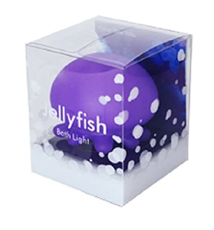 Amazon.com: Violet Jellyfish Bath Light: Home & Kitchen