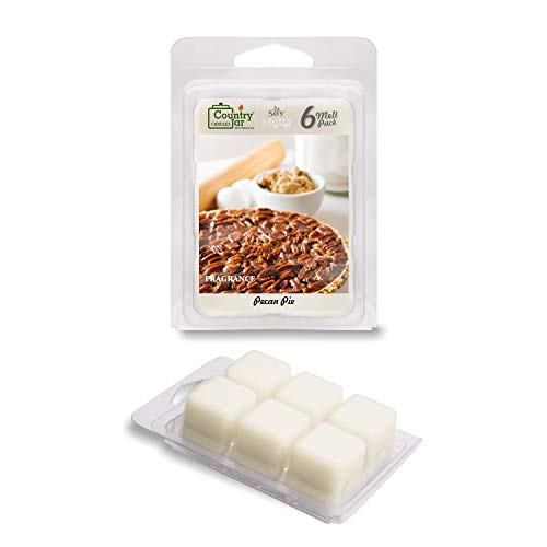 Country Jar Pecan Pie Soy Wax Melts/Tarts (2.75 oz. 6-Cube Pack) Spring Pick-3 Sale! See Details.