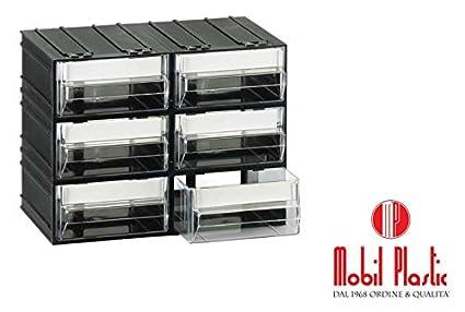 Cassettiere Mobil Plastic.Cassettiere Mobil Plastic T C Composte Da 6 Cassetti
