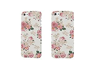 Pastel Floral Photo 3D Case Plastic Hard Customized Personalized 3D Case For iPhone 5 & iPhone 5S