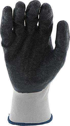West Chester 713SLC M Latex Coated Multipurpose Work Glove, Medium, Black Gray (Pack of 12) by West Chester (Image #2)