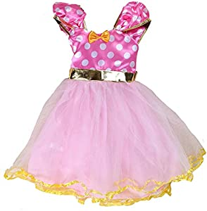 Sweepstakes: Tutu Dreams Toddler Pink Polka Dots Dress…