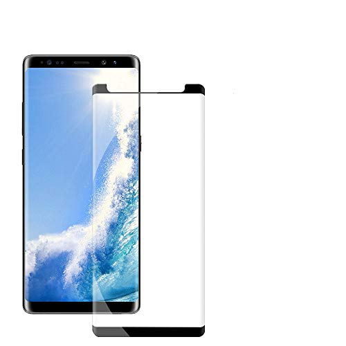 Galaxy Note 9 Screen Protector, Sliiq [3D Curved Edge] Ultra Clear 9H Hardness Tempered Glass Screen Protector Bubble-Free Film for Samsung Galaxy Note 9 [Black] from Sliiq