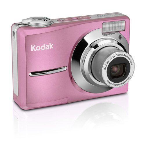 Kodak EasyShare C813 8.2MP Digital Camera with 3x Optical Zoom (Pink)
