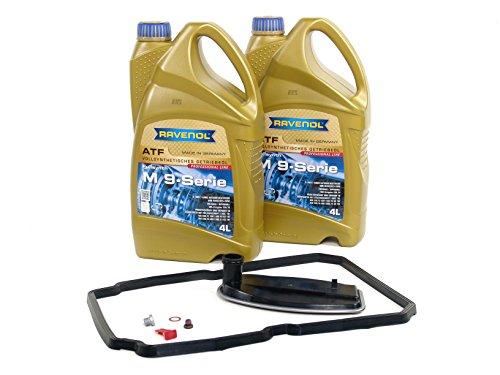 BLAU F2A1502-C Mercedes Sprinter ATF Automatic Transmission Fluid Filter Kit - 2010-16 w/ 5 Speed Automatic by Blau