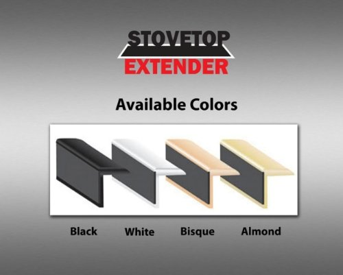 Stovetop Extender SE23WHI Oven Gap Guard (White (Range Trim Kit)