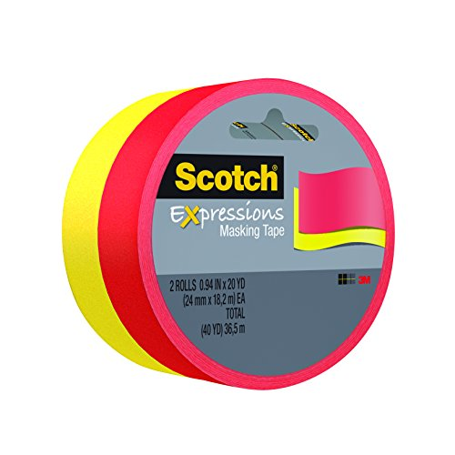 (Scotch Expressions Masking Tape, 0.94