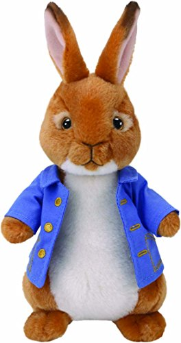Ty Beanie Babies Peter Rabbit Stuffed Animal, 8