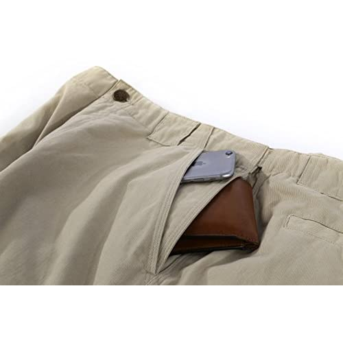 Comfortable Travel Pant SCOTTeVEST Hidden Cargo Pants 2.0-8 Pockets