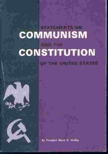 Statements on communism and the Constitution of the United States