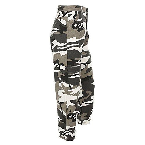 Pantalons Camouflage Occasionnels Beikoard Femmes de Pantalons Jogging Camo Vetement Gris Jeans Sport Outdoor Mode Cargo Jeans nqFnwPUxYS