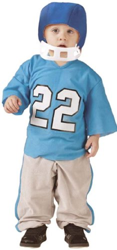 Fun World Toddler Boys Football Player Kids Halloween Costume (Football Player Halloween Costumes For Kids)