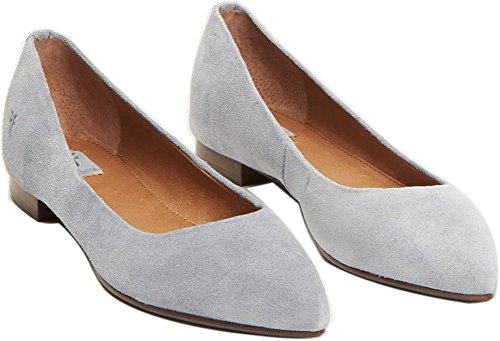 FRYE Women's Sienna Ballet Flats, Jeans, 6.5 B(M) US