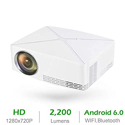 Amazon.com: Averxi C80 UP Mini Projector 2200Lumens ...