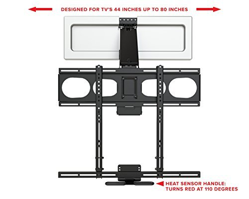 MantelMount MM540 Pull Down TV Mount Fireplace For