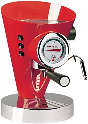 Casa Bugatti 15-DIVAC3 Cafetera, 950 W, 0.8 litros, Rojo: Amazon.es: Hogar