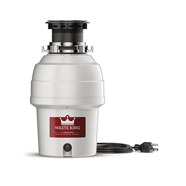 Waste-King-34-HP-Garbage-Disposal-with-Power-Cord-L-3200