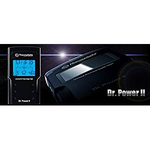 Thermaltake Dr. Power II Automated Power Supply Tester Oversized LCD for All Power Supplies(AC0015), Black