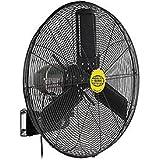 Outdoor Oscillating Wall Mounted Fan, 24 Diameter, 3/10hp, 7700cfm