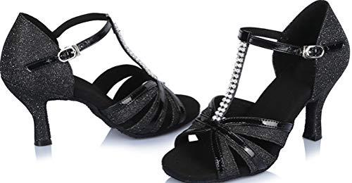 Zapatillas Danza De Find Nice Para Mujer Negro Poliuretano twqFPq5