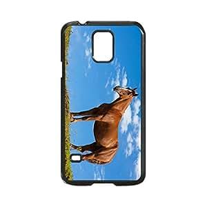 Quarter Horse Photo Design Durable Hard Case Cover For Samsung Galaxy S5 i9600 Regular