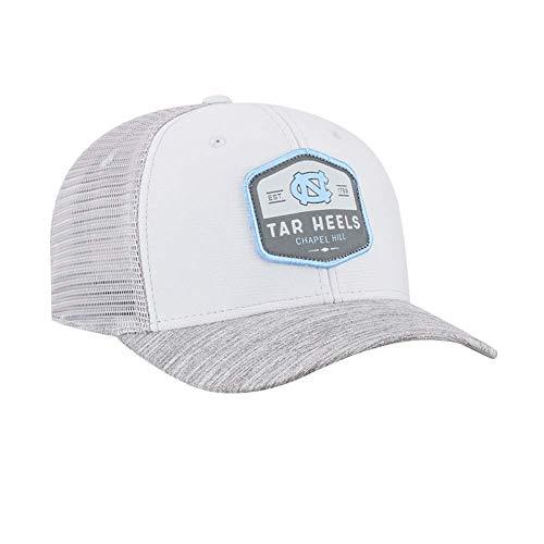 Top of the World North Carolina Tar Heels Hyjak One Fit Three-Tone Hat (Basketball Hill Chapel)