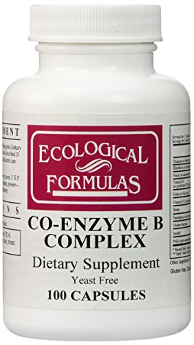 Ecological Formulas/Cardiovascular Res. – Co-Enzyme B Complex – 100 Caps.