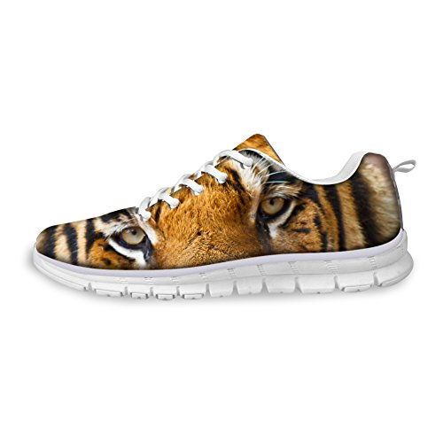 Rnnning Sneakers Fashion Casual HUGS Eyes Shoes Design Black EU35 Lightweight IDEA Men's Tiger Sports wB8v0